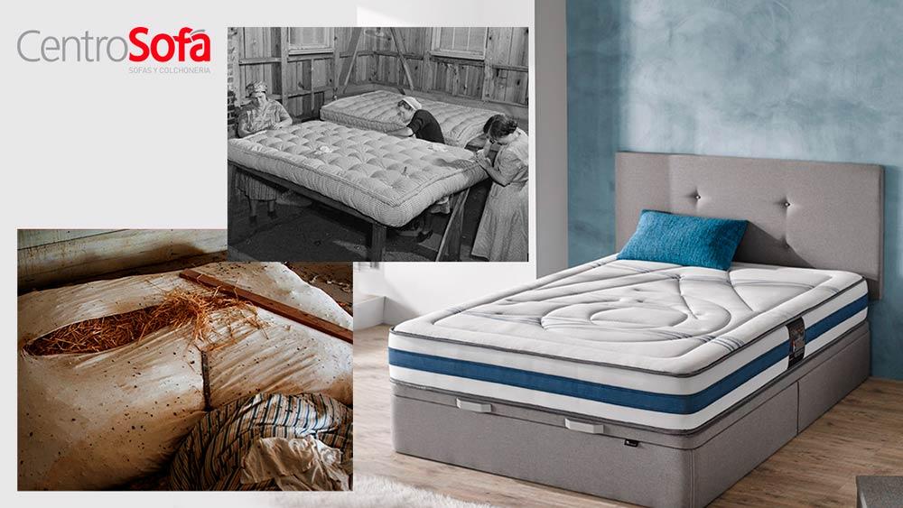 Historia del colchón