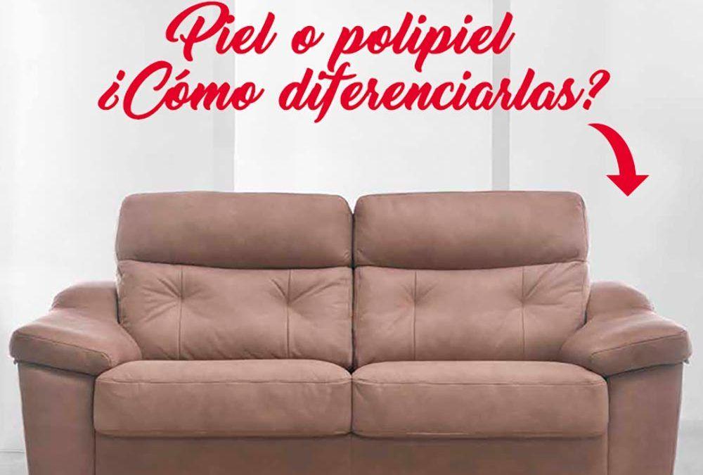 ¿Cómo diferenciamos la piel de la polipiel a la hora de comprar un sofá? – CentroSofá