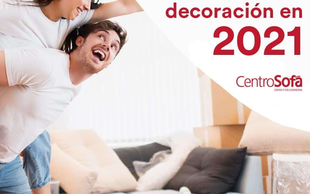 7 tendencias en muebles y decoración en 2021
