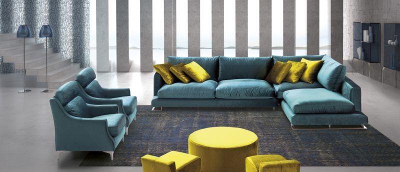 sofa chaiselong modelo chanel divani