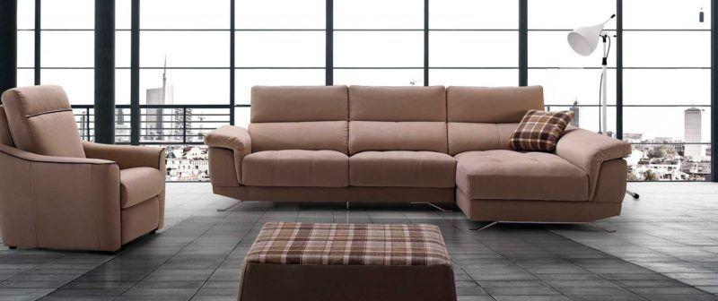 sofa chaiselong modelo monet divani