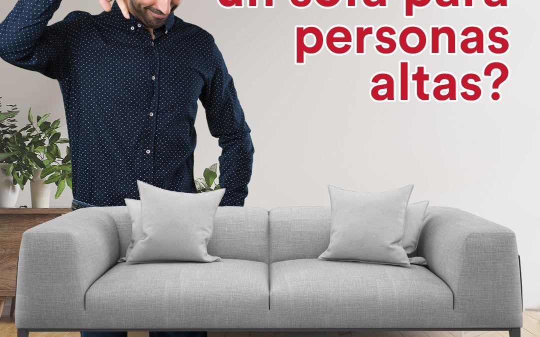 Sofá para personas altas – CentroSofá