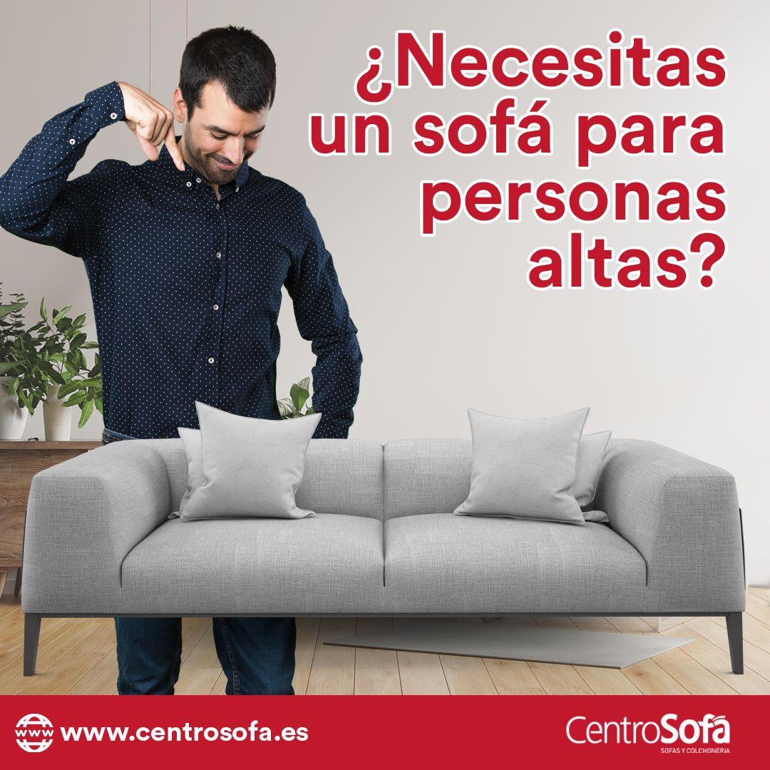 sofás para personas altas centrosofa